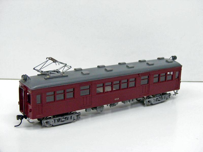 画像1: 近鉄奈良線モ600メーカー完成品