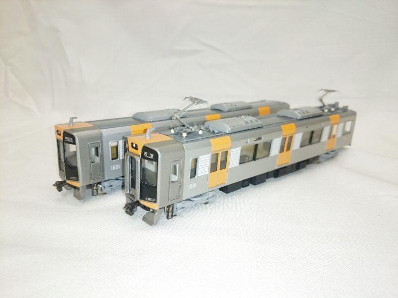 画像1: 阪神 新1000系 Mc+Tc 2両組完成品
