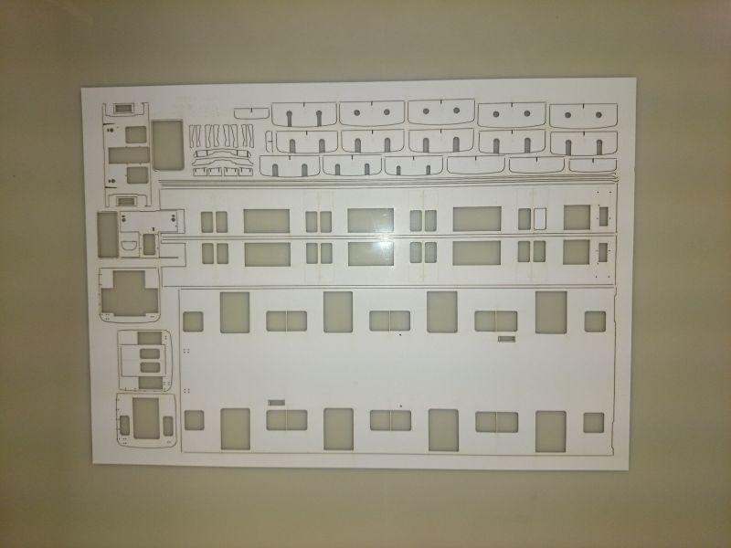 画像1: イコマ商会型紙 近鉄8000系8400系先頭車(注文生産、『カートに入れる』ボタンよりご発注ください)