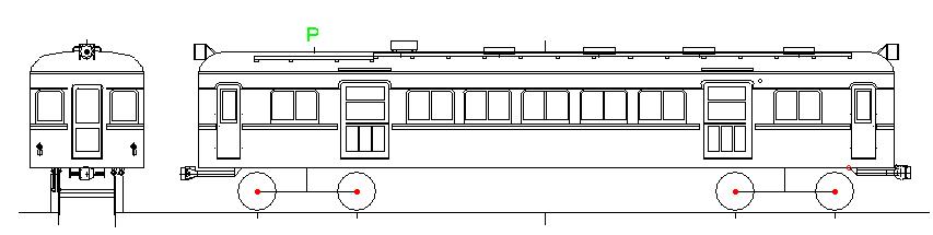 画像1: イコマ商会ペーパーキット 近鉄モ5201(注文生産、『カートに入れる』ボタンよりご発注ください)