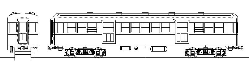 画像1: イコマ商会ペーパーキット 近鉄サ500 張上屋根